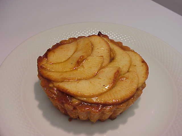 Mini Rustic Apple Tart Mini french apple tarts